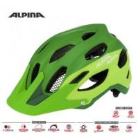 Cyklistická prilba ALPINA Carapax zelená