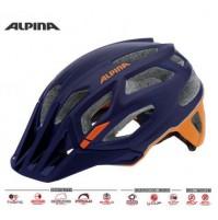 Cyklistická prilba ALPINA Garbanzo modro-oranžová