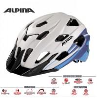 Cyklistická prilba ALPINA Yedon L.E. bielo-modrá