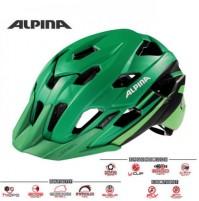 Cyklistická prilba ALPINA Yedon L.E. zeleno-čierna