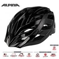 Cyklistická prilba ALPINA PANOMA CLASSIC čierna
