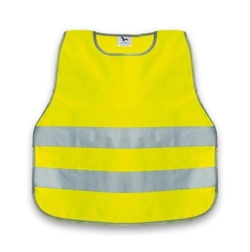Reflexná vesta pre deti žltá (veľ.do 119cm)