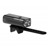 Lezyne predné LED svetlo MACRO DRIVE 1300XL, čierne lesklé