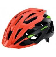 ALPINA Cyklistická prilba Valparola XC červeno neónová - čierna - zelená veľ.: XL, neon red-black-green