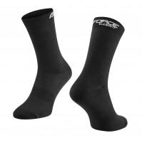 FORCE ponožky ELEGANT vysoké, čierne