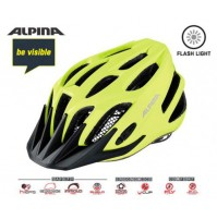 ALPINA Cyklistická prilba FB JUNIOR 2.0 Flash Be Visible reflexná veľ.: M, be visible reflective