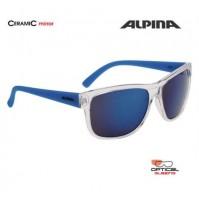 ALPINA Okuliare HEINY transparentné-modré sklá CERAMIC mirror modré S3