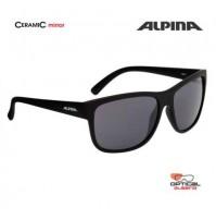 ALPINA Okuliare HEINY čierne matné sklá CERAMIC mirror čierne S3