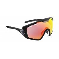 FORCE okuliare OMBRO PLUS čierne matné, červené sklá