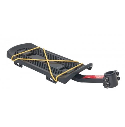 FORCE nosič na sedlovku 25,0-31,6mm Al/plast, čierny