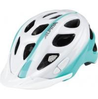 ALPINA Cyklistická prilba Rocky bielo-smaragdová