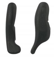 FORCE rohy RAB 12 cm AL + guma, čierne