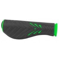FORCE madlá ERGO gumové, čierno-zelené, balené