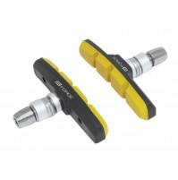 FORCE gumičky bŕzd, jednorazové, čierno-žlté, 70mm