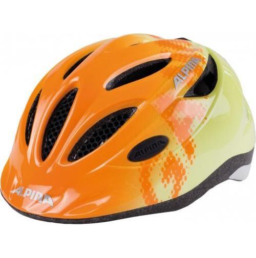 ALPINA Cyklistická prilba GAMMA 2.0 oranžovo-žltá