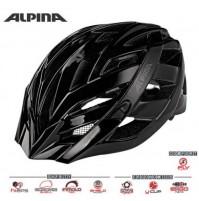 ALPINA Cyklistická prilba PANOMA CLASSIC čierna