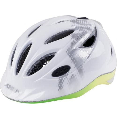 ALPINA Cyklistická prilba GAMMA 2.0 FLASH biela dúha