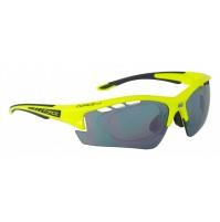 FORCE okuliare RIDE PRO fluo diop.klip, čierne laser sklá
