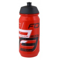 FORCE fľaša SAVIOR 0,5 l, červeno-bielo-čierna