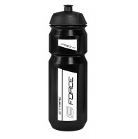 FORCE fľaša STRIPE 0,75 l, čierno-biela