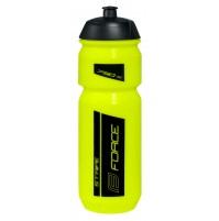 FORCE fľaša STRIPE 0,75 l, fluo-čierna