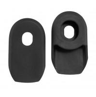 FORCE chrániče kľúk, gumové, čierne, balené