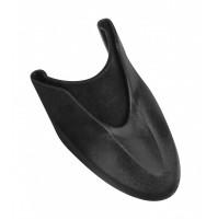 FORCE koncovka blatníka 58, plastová, čierna