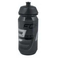 FORCE fľaša SAVIOR 0,5 l, transparentná čierno-šedá