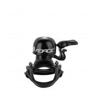FORCE zvonček CHICK mosadz / plast 19,2-31,8mm, čierny
