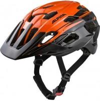 ALPINA Cyklistická prilba ANZANA oranžovo-čierna