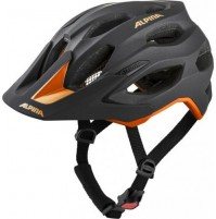 ALPINA Cyklistická prilba Carapax 2.0 čierno-oranžová