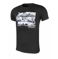 FORCE tričko COOL COMICS krátky rukáv, čierne