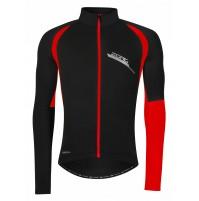FORCE bunda/dres ZORO dlhý rukáv, čierno-červená