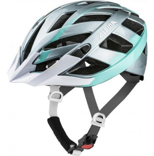 ALPINA Cyklistická prilba PANOMA 2.0 oceľovo-smaragdová