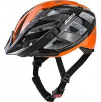 ALPINA Cyklistická prilba PANOMA 2.0 čierno-oranžová