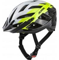 ALPINA Cyklistická prilba PANOMA 2.0 bielo-neon-čierna veľ.: L, white-neon-black