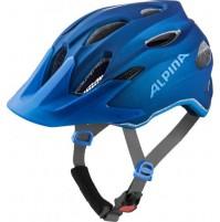 ALPINA Cyklistická prilba Carapax JR modrá veľ.: M, blue