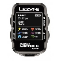 LEZYNE Cyklocomputer Micro COLOR GPS čierna