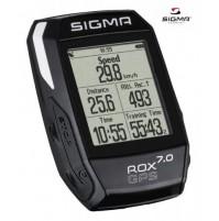 SIGMA Cyklocomputer ROX 7.0 GPS čierny s GPS a výškomerom