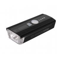 FORCE svetlo predné ALERT 350LM USB, čierne
