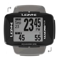 LEZYNE Cyklocomputer Macro PLUS GPS čierna