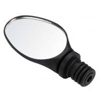 FORCE spätné zrkadlo do riadítok, čierne