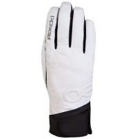 ROECKL Lyžiarske rukavice Corvatsch bielo-čierne