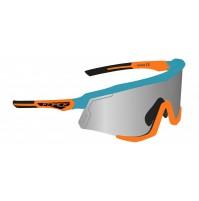 FORCE okuliare SONIC modro-oranžové, modré zrkadlové sklá