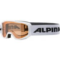 Lyžiarske okuliare detské Alpina PINEY biele