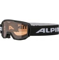 Lyžiarske okuliare detské Alpina PINEY čierne