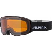 Lyžiarske okuliare Alpina NAKISKA DH čierne