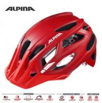 ALPINA Cyklistická prilba Garbanzo červená