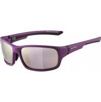 ALPINA Okuliare LYRON S fialovo-čierne matná, sklá : ružovo-zlaté zrkadlové