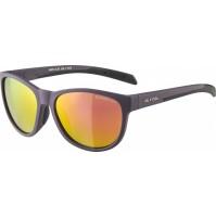 ALPINA okuliare Nacan II nightshade mat, sklá: fialové zrkadlové